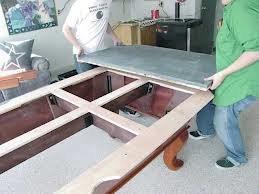 Pool table moves in Meadville Pennsylvania